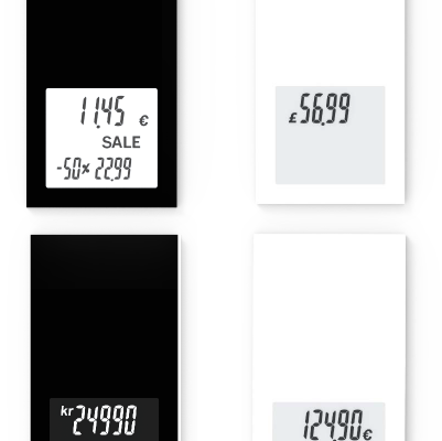 Etiquetas electrónicas